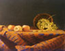 Apples and Grapes - Chuck Rosenthal Fine Art Pastel Art for Giclee